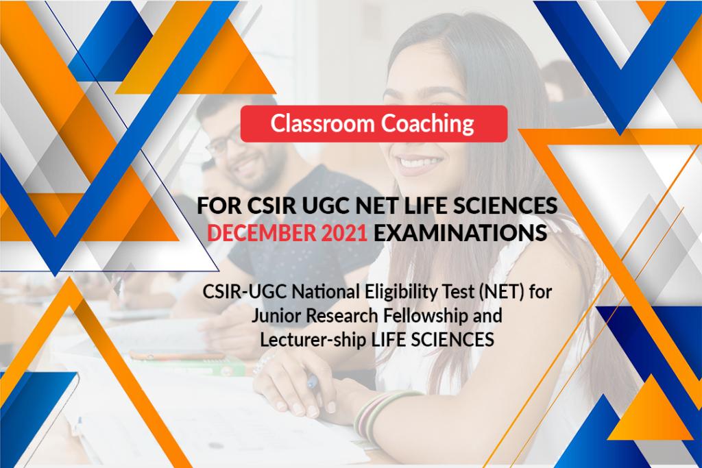 CSIR UGC Net-Classroom Coaching