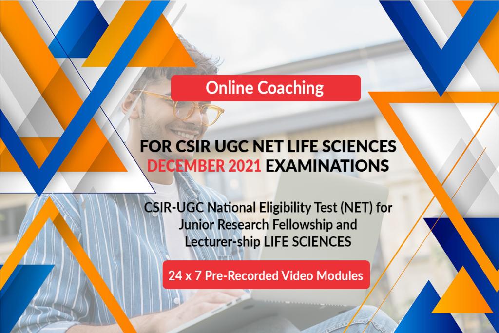 CSIR UGC Net-Online Coaching